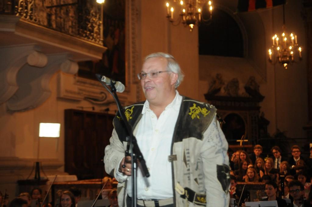 2.10.2015, Christian Wehrschütz, Reporter, ORF, Opera Concert for Peace, Dom, Salzburg, © Manfred Siebinger